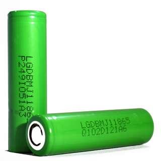 100% LG MJ1 3500mAh, 10A Flat Top High Drain 18650 Battery