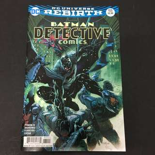 Detective Comics 935 DC Comics Book Batman Movie Justice League
