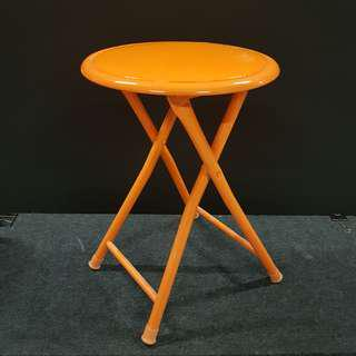 Foldable Orange Stools