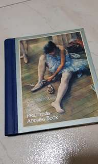 Contemporary art of the Philippines - address book