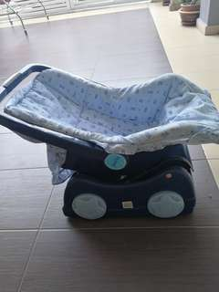 Baby Handcarry seats free toilet music bowl