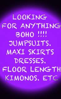 LOOKING FOR BOHO