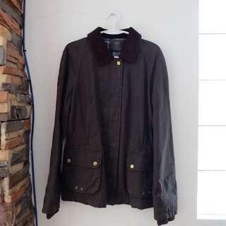 Zara Leather Brown Jacket