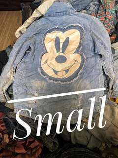 denim mickey jacket