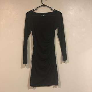 Kookai long V neck dress