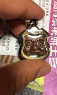 泰國佛牌 婆坦昭醒噴判天神2557(銅模)