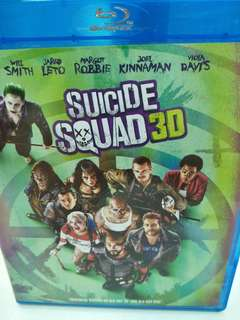 Sucide squad movie Blu-ray 3D + Blu-ray