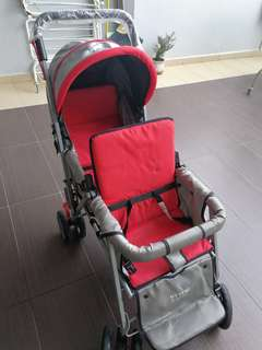 Double seats stroller