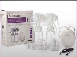 Real Bubee Double Breast Pump