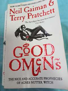 Good Omens Neil Gaiman Terry Pratchett