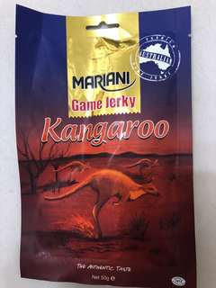 澳洲袋鼠肉乾 50g