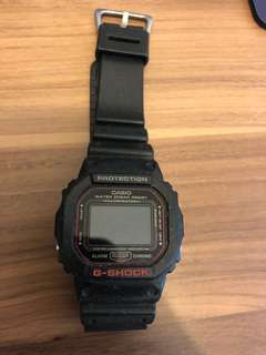G-shock 紅黑 special edition
