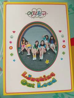 GFRIEND Laughing Out Loud 淨專 (連海報及贈品)