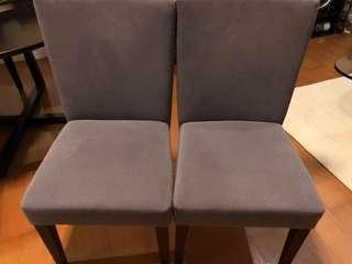 Custom Fabric Chairs (4)