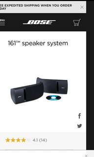 Bose speakers
