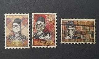 Malaysia Tunku stamps