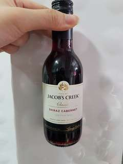 jacob creek 紅酒 187ml