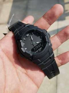 G-100 MATTE BLACK GSHOCK WATCH