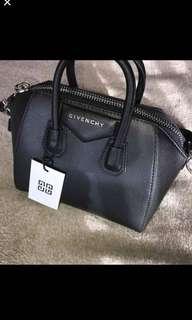 Black small Givenchy Antigona Bag