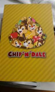 Chip n Dale notebook