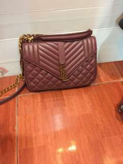 YSL Maroon Colour