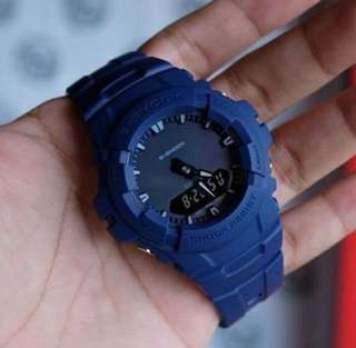 G-100 BLUE GSHOCK WATCH