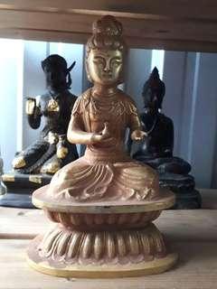 """Tibet Buddha Bucha 10"""" hight"""
