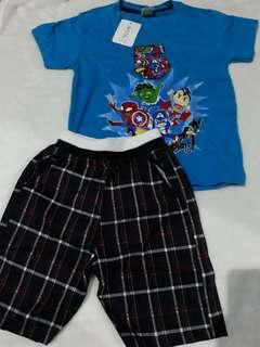 Set baju anak laki-laki