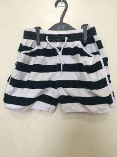 Stripes board shorts