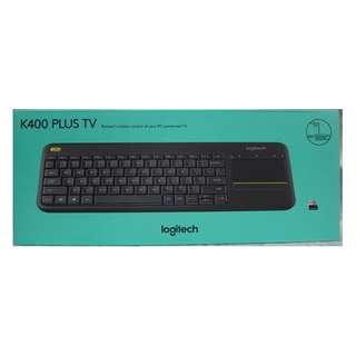 Logitech Keyboard K400 Plus Wireless USB Keyboard For TV & PC MAC Computer