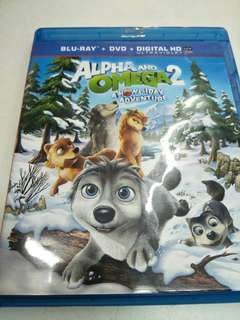 Alpha and omega 2 movie Blu-ray
