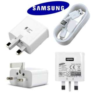 Combo Set- 100% Samsung Fast Charger