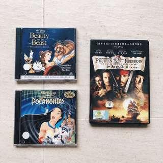 Walt Disney DVD Movies