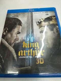 King Arthur movie Blu-ray 3D + Blu-ray