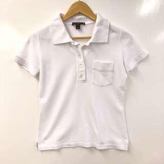 Lv louis vuitton white polo tee shirt size S