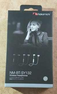 Brand New Sealed Nakamichi NM-BT-SY132 Bluetooth Wireless Earphones