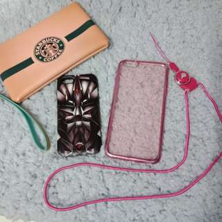 BUNDLE (PHONE CASE+LANYARD+POUCH)