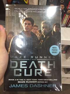 Maze Runner The Death Cure Novel