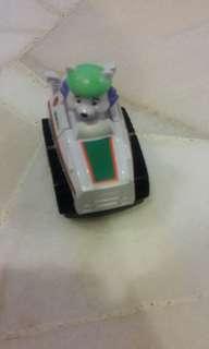 Paw patrol toy car condition 8/10