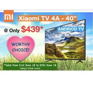 "Xiaomi TV 4A - 40"""