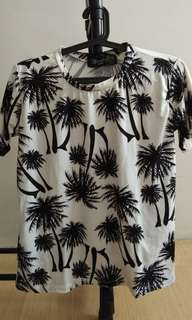 Black and White Tropical