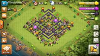 Clash Of Clans Account town hall 7 maxed