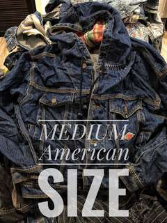 American size up to XL