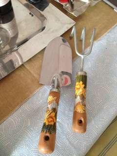 彩繪園藝工具