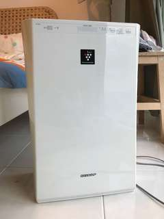 Sharp 3 in 1 = Air Purifier + Ion Plasmacluster + Humidifier KC 930E W