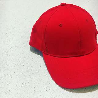 Brand New Red Dad Hats
