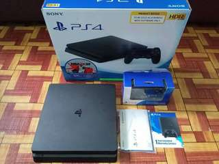 ps4 slim 500gb 5.05 with many games