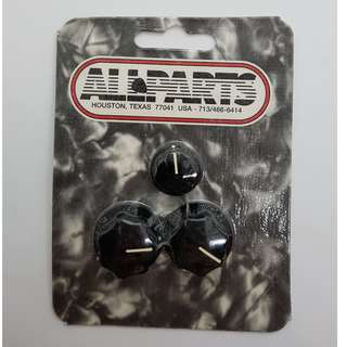 Black Knob Set for Jazz Bass® (by Allparts)