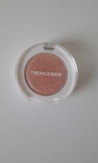 THE FACE SHOP SINGLE MONO GLITTER EYESHADOW PK01