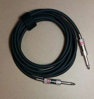 Guitar / Instrument Cable, professignal low noise, 10 feet